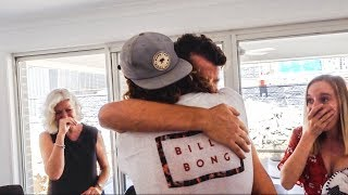 We Flew Across the World for This! | Emotional SURPRISE