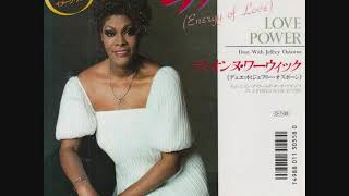 DIONNE WARWICK & JEFFREY OSBORNE - LOVE POWER - ENERGY OF LOVE (1987)