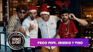 Freimos al Chef - entrevista a cocinero Paco Pepe. Cuanto gana un chef.