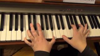 Разбор игры на пианино композиции Lana Del Rey - Young And Beautiful