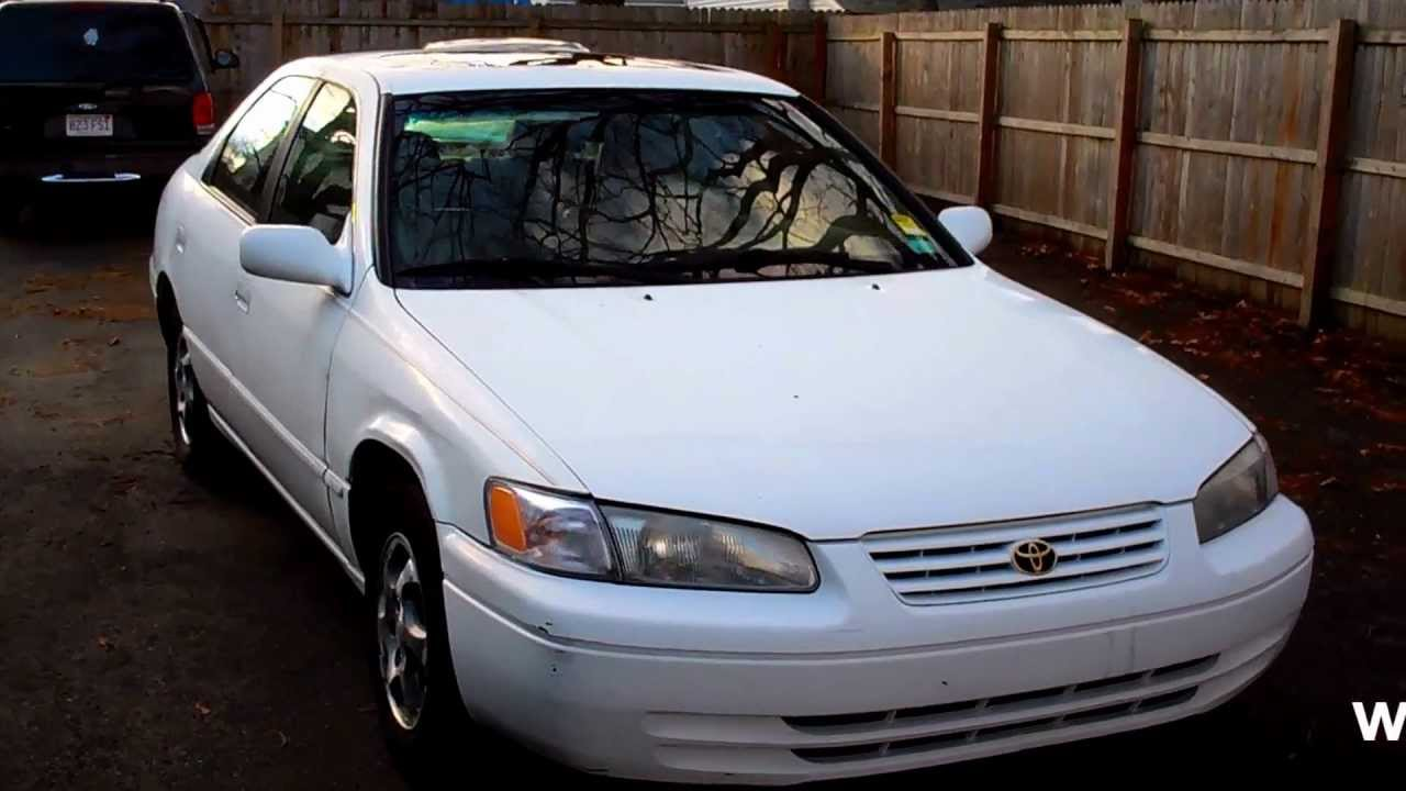 1998 toyota camry le sedan 4dr 3 0l v6 at moonroof youtube. Black Bedroom Furniture Sets. Home Design Ideas