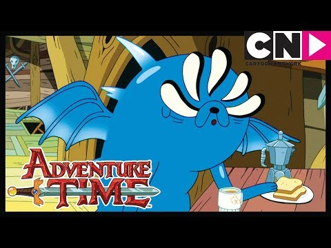NEW Adventure Time   Abstract PREVIEW!   Jake Is Blue   Cartoon Network
