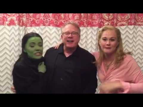 Backstage with Wicked NYC
