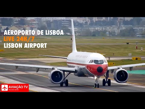 Live Cam 24h/7 Aeroporto de Lisboa / Lisbon International Airport (LPPT/LIS), Portugal