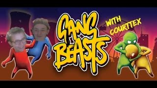 Gang Beasts   With Courttex   Hilarious Jelly Physics!!!