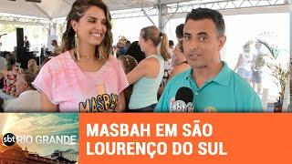 Mônica Fonseca do Masbah agita o Paradouro Mais Verão - SBT Rio Grande - 11/02/19