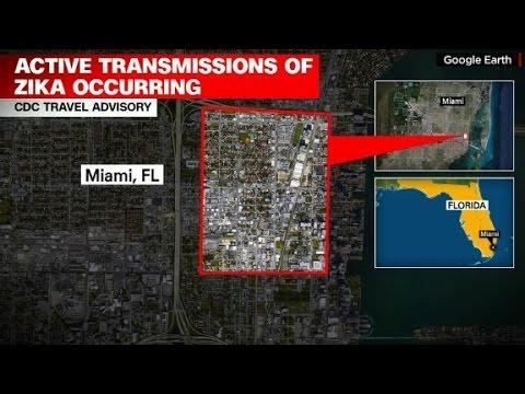 CDC issues historic Zika travel warning