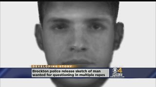 Sketch Released Of Man Wanted For Questioning In Brockton Rapes