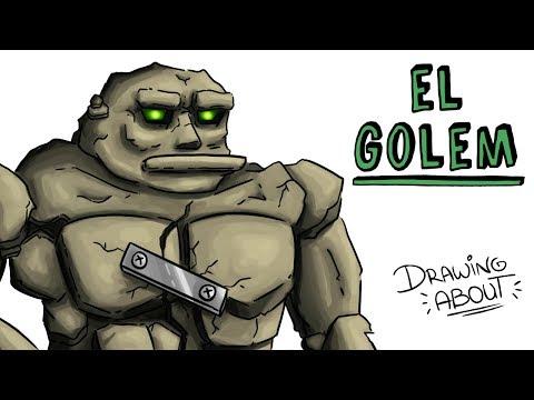 LA Hª DEL TEMIBLE GOLEM | Draw My Life