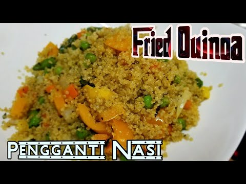 Resep Quinoa Keen Wa Goreng Quinoa Salad Pengganti Nasi Gluten Free Youtube