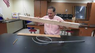 Building physics marble tracks-loop de loop track part 2  // Homemade Science with Bruce Yeany