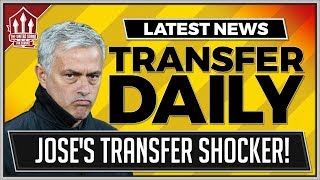 MOURINHO's Shock MANCHESTER UNITED Transfer News