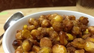 how to make crispy corn crackers (The next big thing in the peanut industry)