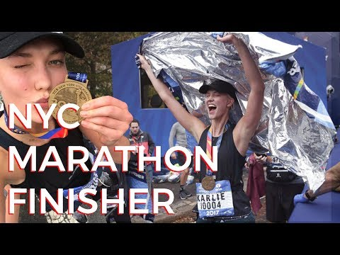 Runbelievable | Karlie Kloss runs NYC Marathon
