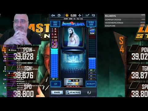 Over My Limit on Over the Limit Plus Neon Nexus Pack Opening - WWE Supercard