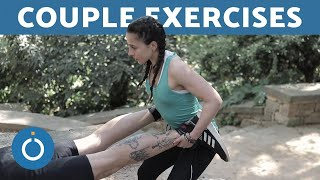 COUPLE FITNESS - Exercises You Can Do Anywhere