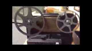 Kodak Instamatic M67 Movie Projector demonstration