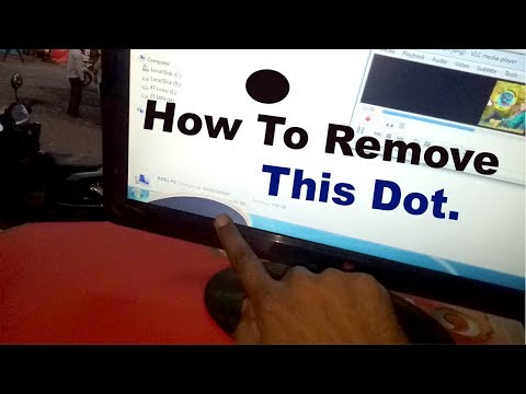 How to remove black spot from LCD or LED  screen || HINDI ||