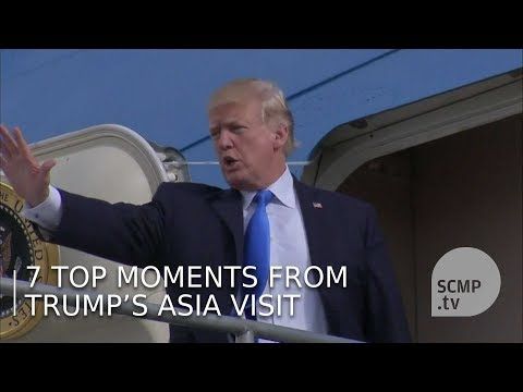 7 top moments from Donald Trump's Asia visit