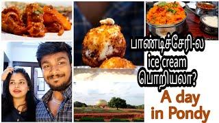 day-2-ram39s-birthday-vlog-pondicherry-special-dilliwaala-6-restaurant-golden-globe-auroville