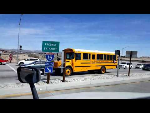 Bigrigtravels Live! - Victorville,  California to Jurupa Valley - Interstate 15 - March 3, 2017