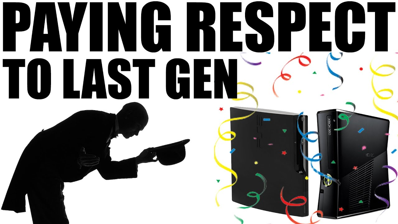 Xbox 360 & PS3 – Paying Respect To Last Gen Consoles