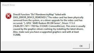FIFA 20/19/18/17 PC--DirectX Error Final Fix--100% Working! Windows 10/8.1/7