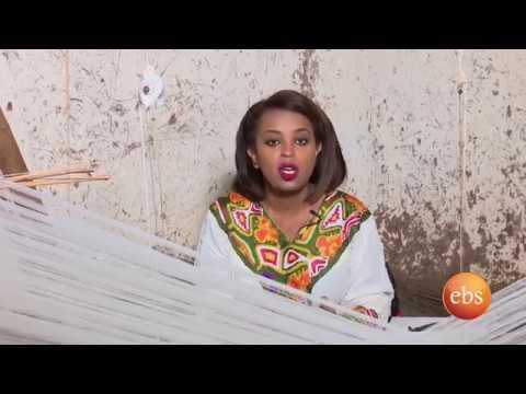Semonun Addis ሰሞኑን አዲስ: Coverage on Ethiopian Traditional Clothing - በኢትዮጵያ የባህላዊ ልብሶች ሁርያ የተሰራ ዘገባ