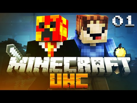 Minecraft UHC SEASON 7 (ULTRA HARD CORE) #1 with PrestonPlayz & MrWoofless