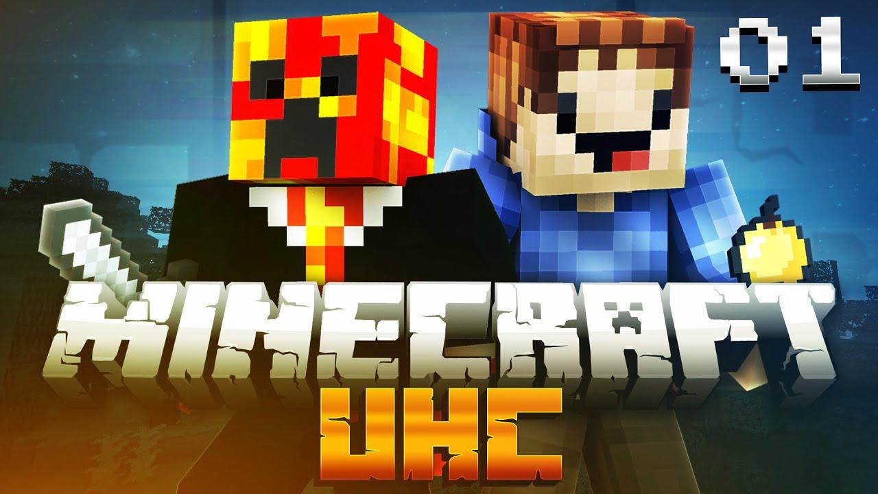 Minecraft UHC SEASON 8 (ULTRA HARD CORE) #8 with PrestonPlayz & MrWoofless