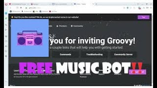 How to Add a FREE Music Bot to your Discord Server VERY EASY!!
