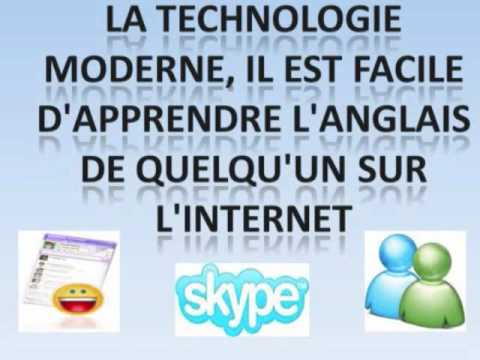apprendre l 39 anglais sur internet youtube. Black Bedroom Furniture Sets. Home Design Ideas