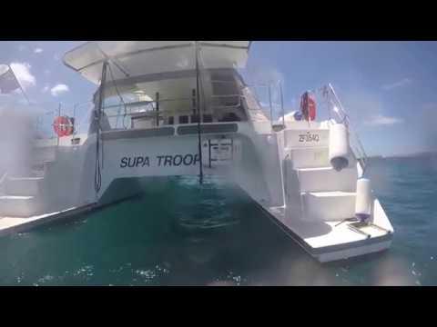 Sailing from Vanuatu to Australia
