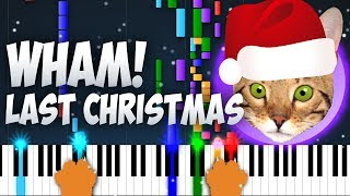 Wham! - Last Christmas Cat Meow Covers Piano and Cat Cover Music
