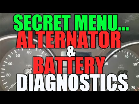 Mercedes Battery & Alternator Check Via Secret Menu (Easy + Fast)