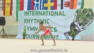Radina Tomova (BUL) - 2005A 10 - Emeralds Cup 2017