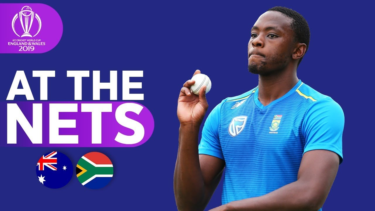 LIVE: South Africa v Australia - CWC 2019