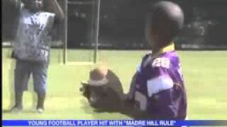 11 Year Old Benched For Scoring Too Many Touchdowns!