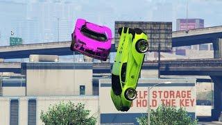 WALLRIDEOVI & STICKY BOMBE ! Grand Theft Auto V - Lude Trke wCale