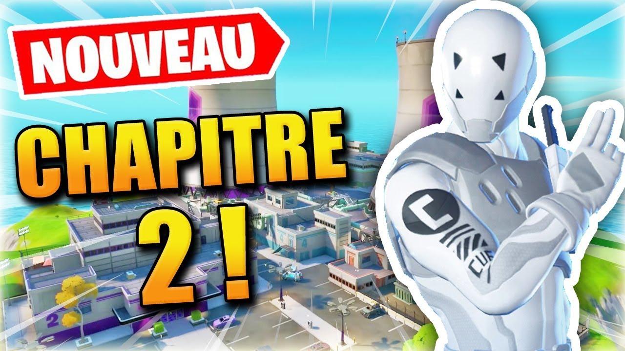 FORTNITE CHAPITRE 2 : Ma première game & passe de combat ! - YouTube