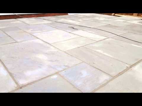 How To Lay An Indian Sandstone Patio