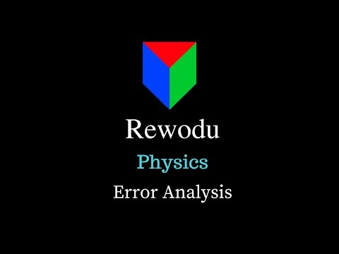 Error Analysis (11.2.6), Units and Measurements, Class 11 Physics video in Hindi