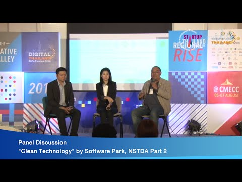 """Panel Discussion """"Clean Technology"""" by Software Park, NSTDA Part 2"""