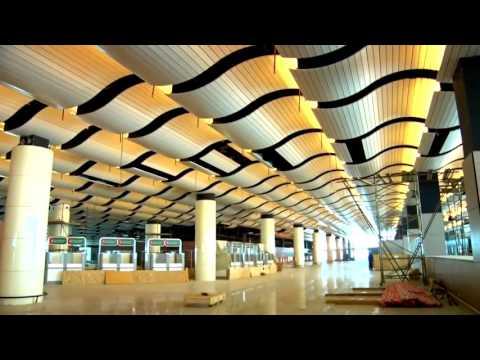 L'Aéroport International Blaise Diagne en phase de finition