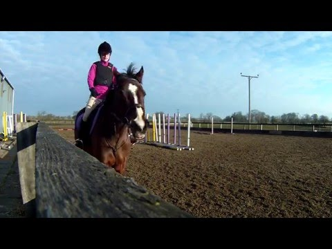 Horse riding lesson RAW - The Tilery