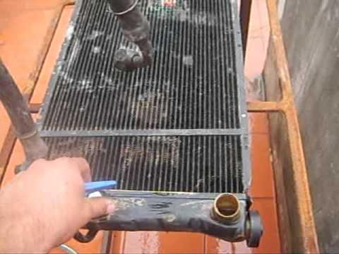 C mo limpiar el radiador del coche como limpiar el - Limpieza de cobre ...