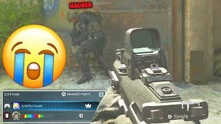 So.. I played with an AIMBOT HACKER in 2v2 GUNFIGHT! (Modern Warfare)