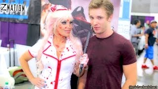Zombie Apocalypse Survival  Tips  & Weapons w  Z Nation star Michael Welch & fans!