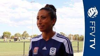 GIRLS FC: Victory midfielder Gulcan Koca introduces the tournament