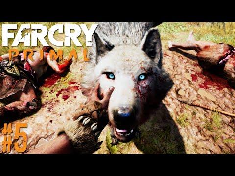 FAR CRY PRIMAL #5 | Domar o Grande Lobo Branco (PORTUGUÊS/HD)